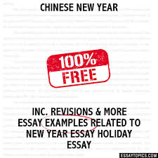 chinese new year essay chinese new year