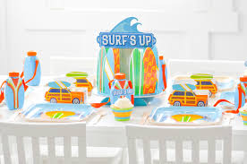 Surf Decorations Party
