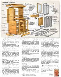 Kitchen Dresser Kitchen Dresser Plans O Woodarchivist