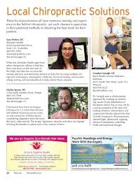 Inner Light Chiropractic Natural Awakenings Phoenix October 2016 Issue By Natural