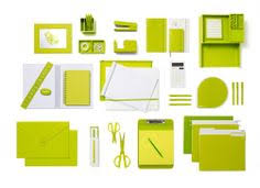 lime green office accessories. Simple Lime Lime Green Poppin Products Intended Office Accessories Pinterest