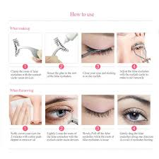 how to use eyelash curler. ruimio eyelash curler \u0026 false eyelashes applicator: amazon.co.uk: beauty how to use s