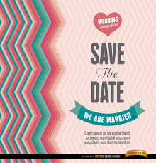 save the date template free download save the date template illustration vector free download