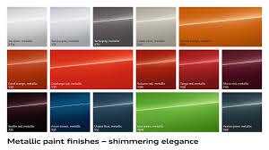 Audi Special Paint Colours