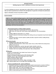 Resume Sample Metal Fabrication Welding