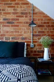 Designer Electrical Conduit The Loft Bedroom Final Reveal Brick Bedroom Loft