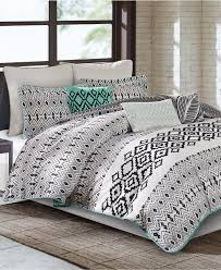 Bed Bath And Beyond Echo Design Closeout Echo Kalea Bedding Collection Black And White