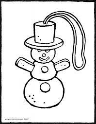 Winter Kleurprenten Pagina 4 Van 7 Kiddicolour