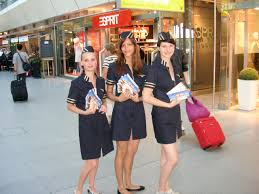 mevess fair agency berlin our promotion campaign stewardesses distribute at the airport of tegel and at the airport schönefeld in berlin 300 000 vouchers to passengers for fluege de