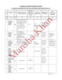 Internship Report On Hrm Practices At Paec Ec Chashma By