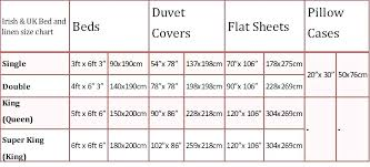 king size duvet cover size bed sizes chart us org basic king size duvet cover dimensions