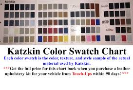 founded in 1983 katzkin leather inc of montebello california is the leading manufacturer of custom leather interiors with a nationwide installer base