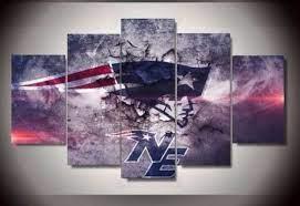 canvas wall art new england patriots