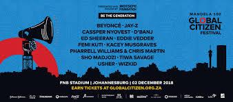 Global Citizen Festival Mandela 100 Big Concerts