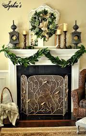 Elegant Christmas Tree Decorating Interior Charming Christmas Mantel Decor For Decorating A Holiday