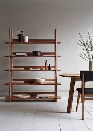 Japanese Bookcase Design Tana Shelf Unit Furniture Modern Bookcase Handmade Furniture