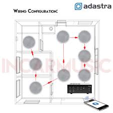 ceiling speaker volume control wiring diagram ceiling 6x ceiling speakers 100v line bluetooth amplifier kit for on ceiling speaker volume control wiring diagram