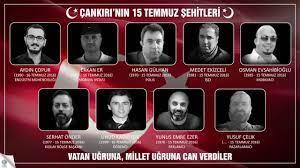 Çankırılı 15 Temmuz Şehitleri Anısına - YouTube