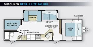 big family fun denali expeditionfloorplan