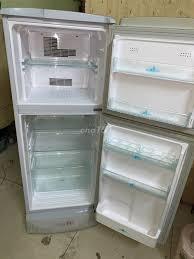 tủ lạnh quạt gió sanyo 150 lít zin nguyên bản - 79319344