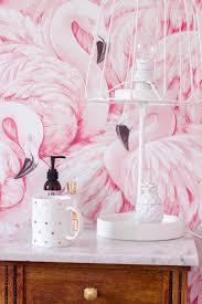Flamingo Behang In De Slaapkamer Bedroom In 2019 Bedroom