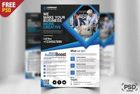 How To Make A Business Flyer 003 Corporate Business Flyer Free Psd Template Ideas Design