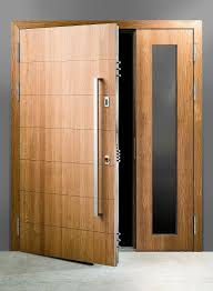 Secure exterior door