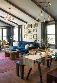 crate and barrel living room ideas living room eclectic with dark wood ceiling beam
