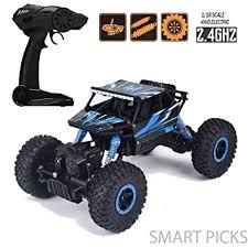 Buy Smart Picks <b>1:18</b> Rechargeable Rock Crawling 4WD 2.4 Ghz ...