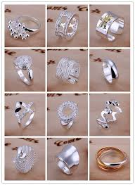 Details about Xmas Gift <b>925 Silver Fashion Silver</b> Many Types ...