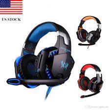 Satın Al Ps4 Oyun Mikrofonlu Kulaklıklar Dazzle Işıkları Kızdırma Oyunu  Müzik Kulaklık C0205 ABD Stok Hızlı Kargo, TL209.21