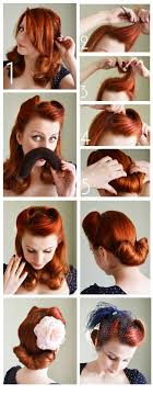 Hair Style Pinterest best 25 1940s hairstyles ideas vintage hairstyles 1615 by wearticles.com