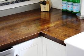 image of butcher block countertops ikea corner