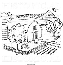 farm clipart black and white. With Farm Clipart Black And White