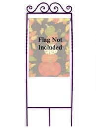garden flag holders. Deluxe Garden Flag Arbor - Forged Artisan Ironwork Holders