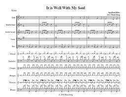 drum set sheet music