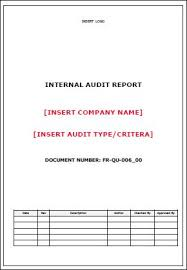Template Audit Report Template Audit Report Detailed Allsafety Management Services