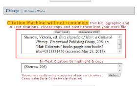 using citation machine to credit information for your non fiction  using citation machine for non fiction citations