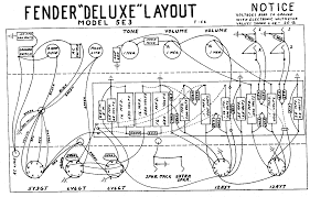 Fender Deluxe Tube Chart Fender Layout Diagrams