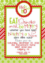 invitation party templates custom designed christmas party invitations eat by marcylauren