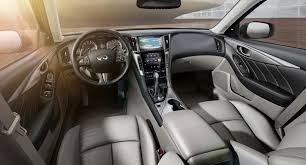 infiniti q50 sport interior. designers approached the integration of every element in interior terms not just function but also stimulation sensescolor touch infiniti q50 sport s