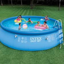 intex above ground swimming pool. Review Of Intex Easy Set Swimming Pool 18x48 Above Ground O