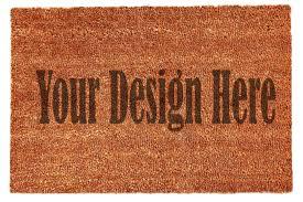 Decorating coir door mats pics : Coir Doormat Mockup by Artbucket Designs | TheHungryJPEG.com