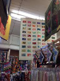 Are Hawaii quilt shops different then yours?   Rosemary Youngs ... & The second shop we visited was called Vickys fabric, I also bought a kit  there, was really surprised that one of the fabrics was designed just for  the shop. Adamdwight.com