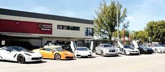 exotic and luxury car als miami