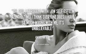 Low Self Esteem Quotes Mesmerizing Low Self Esteem Quotes Classy 48 Images About Self Esteem On