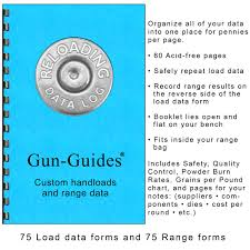 2018 Powder Burn Rate Chart Reloading Data Log By Gun Guides Gun Guides 0045635886018