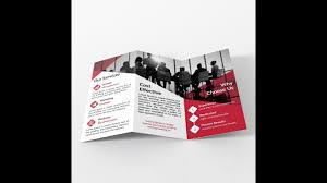 Tri Fold Brochure Layout How To Make Tri Fold Brochure Layout In Adobe Illustrator Bangla
