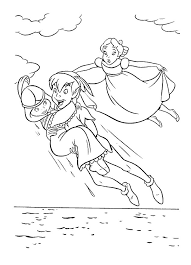Coloring Pages Peter Pan Animated Images Gifs Pictures