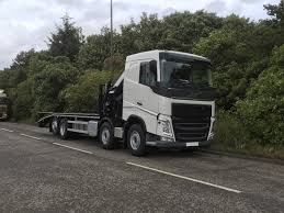 32 Tonne Volvo Fh 460 Cheesewedge With Hiab Crane Truck For